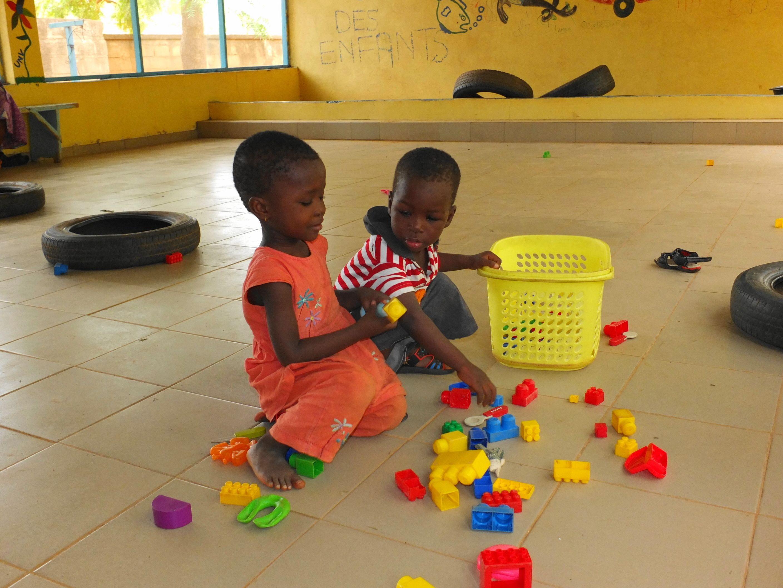Oasis des enfants à Kaya